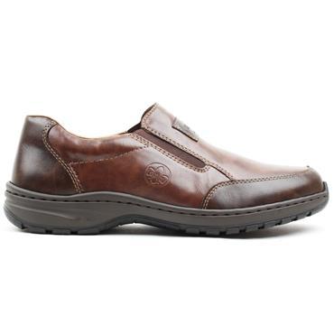 RIEKER 03354 SLIP ON SHOE - TAN