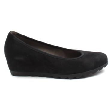 GABOR 05320 WEDGE SHOE - Black