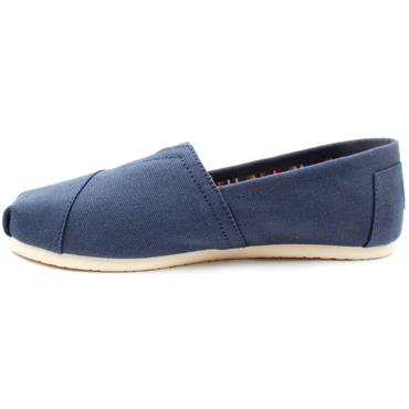 TOMS 10000873 CANVAS SHOE - NAVY