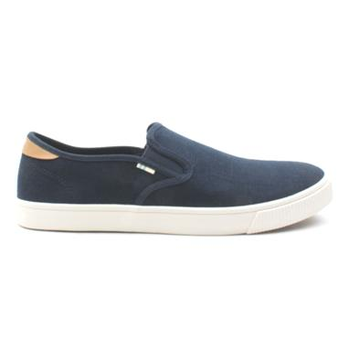 TOMS 10013230 BAJA SLIP ON SHOE - NAVY