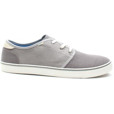 TOMS 10013289 CARLO LACED SHOE - GREY