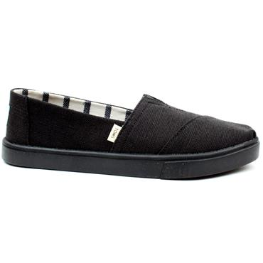 TOMS 10013510 CANVAS SHOE - Black
