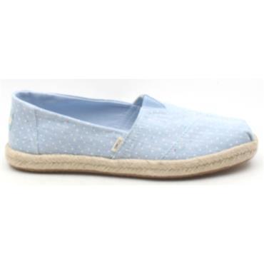 TOMS 10013520 CLASSIC SHOE - BLUE