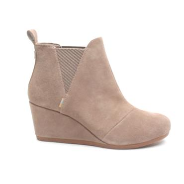 TOMS 10014174 KELSEY BOOT - TAUPE