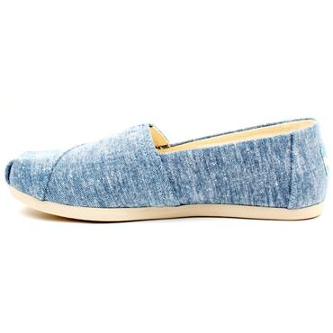 TOMS 10014410 CANVAS SHOE - BLUE