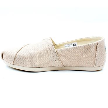 TOMS 10014487 CANVAS SHOE - BEIGE