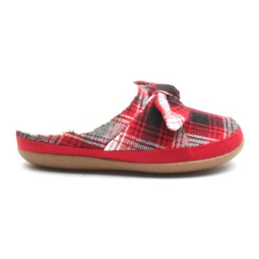 TOMS 10014622 IVY SLIPPER - RED MULTI