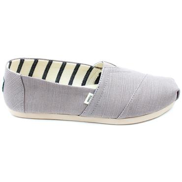 TOMS 10015772 CANVAS SHOE - GREY