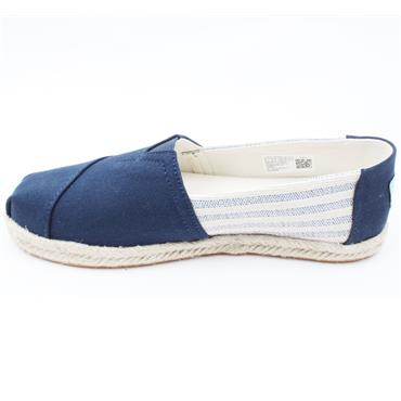 TOMS 10016268 CANVAS SHOE - NAVY