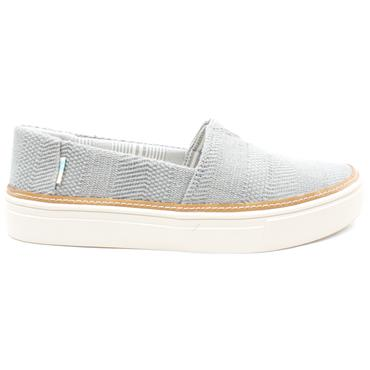 TOMS 10016300 CANVAS SHOE - GREY