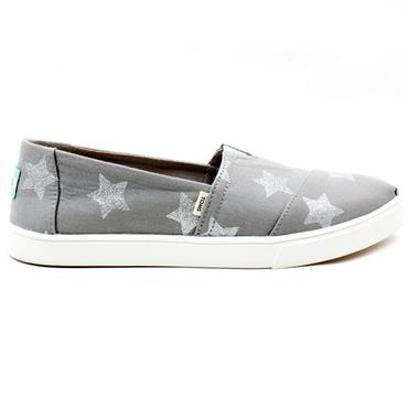 TOMS 10016306 CANVAS SHOE - GREY
