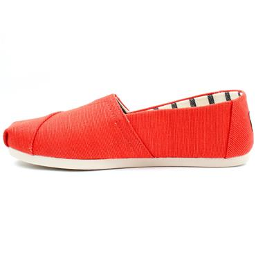 TOMS 10016520 CANVAS SHOE - RED