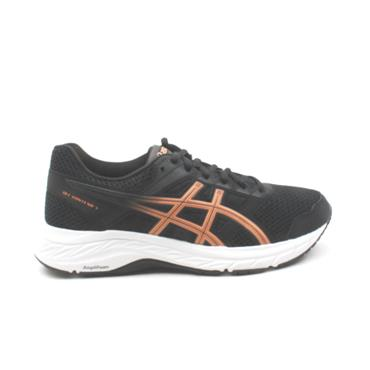 ASICS 1012A234-001 GEL CONTEND RUNNER - BLACK MULTI