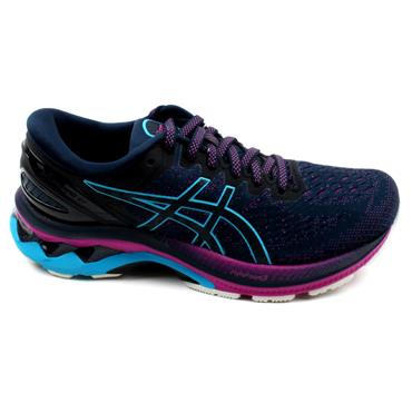 ASICS 1012A649-401 GEL KAYANO 27 RUNNER - NAVY MULTI