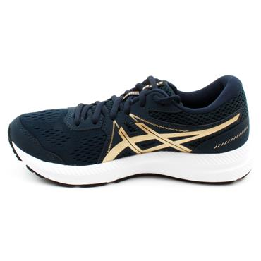 ASICS 1012A911-401 GEL CONTEND RUNNER - NAVY MULTI
