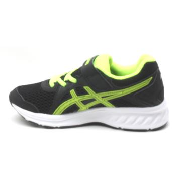 ASICS 1014A034-003 JUNIOR - BLACK/YELLOW