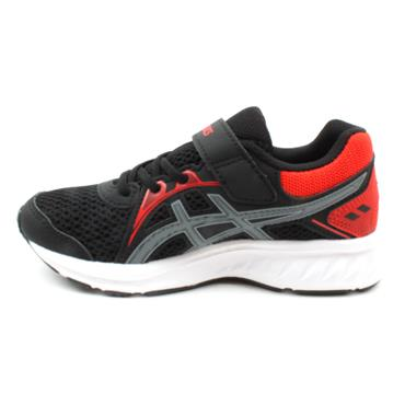ASICS 1014A034-008 JOLT 2 JUNIOR RUNNER - BLACK/RED