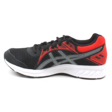 ASICS 1014A035-008 JOLT JUNIOR RUNNER - BLACK/RED