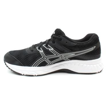 ASICS 1014A086-001 CONTEND 6 - BLACK/WHITE