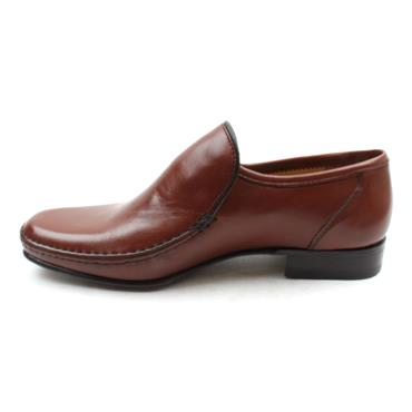 MONTE MARIO SLIP ON SHOE 1103 - BROWN