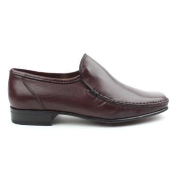 MONTE MARIO SLIP ON SHOE 1103 - BURGUNDY