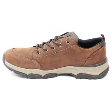 RIEKER 11222 LACED SHOE - BROWN
