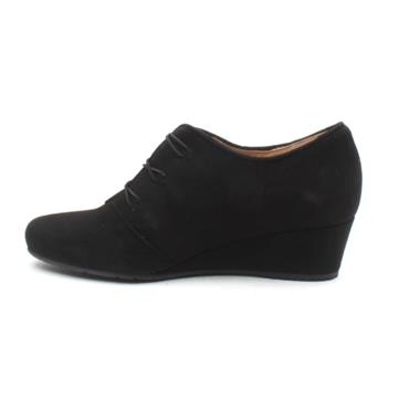 PERLATO 11234 WEDGE SHOE - Black