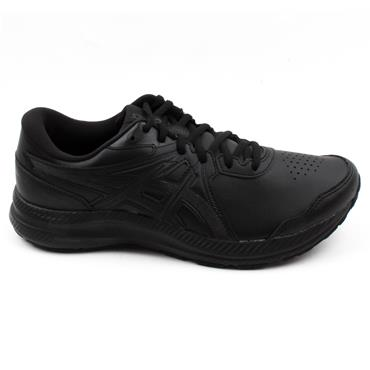 ASICS 1131A049-001 GEL CONTEND SL RUNNER - BLACK/BLACK