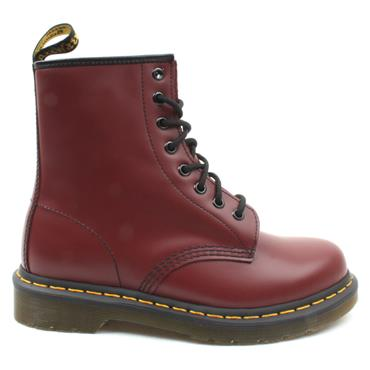 DR MARTENS 11822600 1460 LACED BOOT - CHERRY