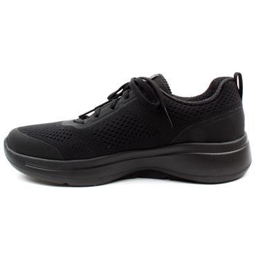 SKECHERS 124404 GO WALK ARCH FIT - BLACK/BLACK
