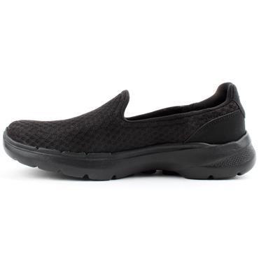 SKECHERS 124508 GO WALK 6 SHOE - BLACK/BLACK
