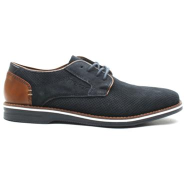 RIEKER 12504 LACED SHOE - NAVY