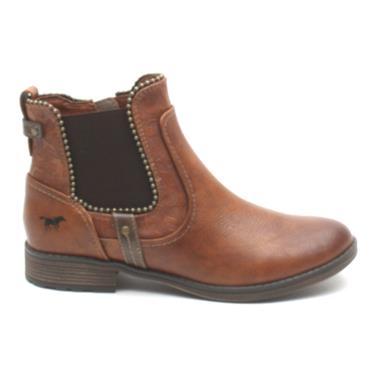 MUSTANG 1265516 SLIP ON BOOT - Tan