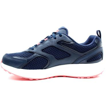 SKECHERS 128075 GO RUN RUNNER - NAVY PINK