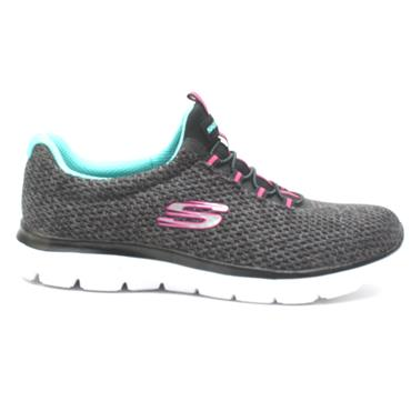 SKECHERS 12986 LACED RUNNER - BLUE MULTI