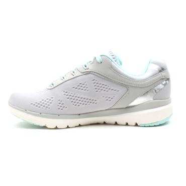 SKECHERS 13059 LACED RUNNER - GREY/GREEN