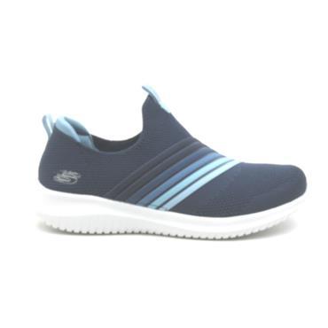 SKECHERS 13112 SLIP ON SHOE - NAVY BLUE