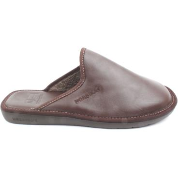 NORDIKA MENS SLIPPER 131 - BROWN