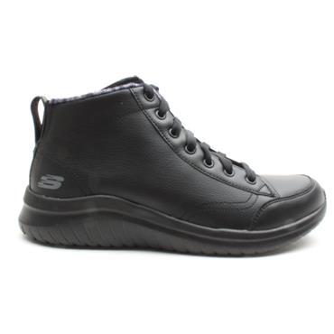 SKECHERS 13358 CASUAL RUNNER - BLACK/BLACK