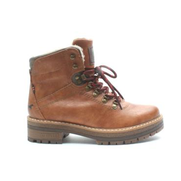 MUSTANG 1344602 LACED BOOT - TAN