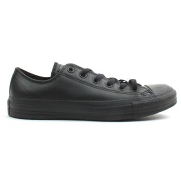 CONVERSE LEATHER  135253 SHOE - Black