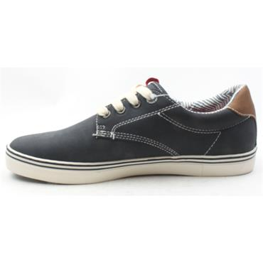 SOLIVER MENS SHOE 13609 - Navy Fabric