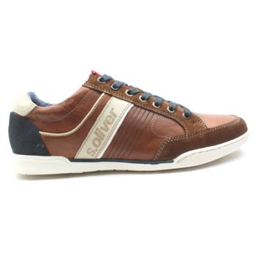 SOLIVER 13620 LACED SHOE - TANMULTI