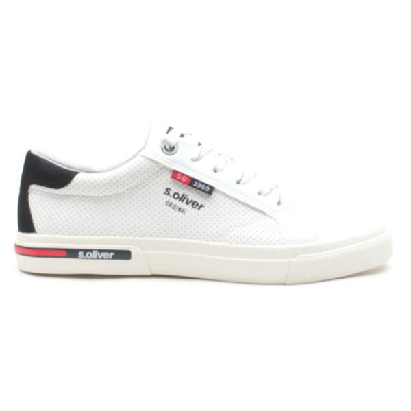 SOLIVER 13630 LACED SHOE - WHITE