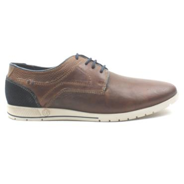 SOLIVER 13637 LACED SHOE - TAN