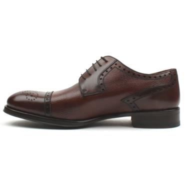 ROBERTO MENS LACE SHOE 14045 - BROWN