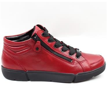 ARA 14435 LACED BOOT - RED
