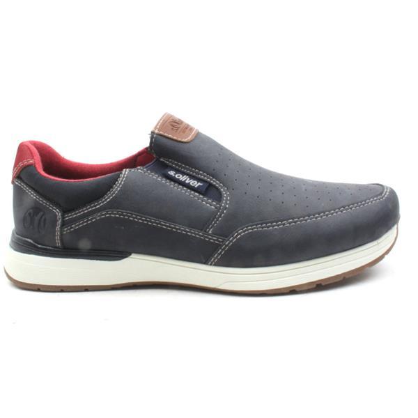 tolle Passform moderner Stil geringster Preis Soliver 14605 Slip On Shoe - Navy