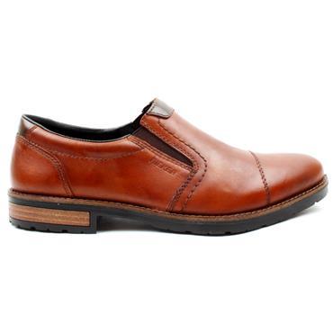 RIEKER 14650 SLIP ON SHOE - TAN