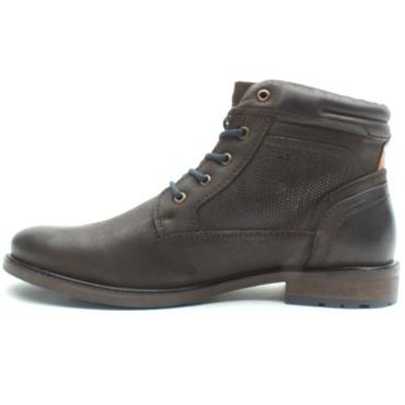 SOLIVER 15218 LACED BOOT - BROWN